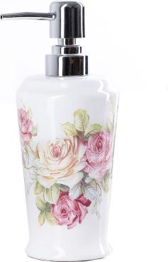 Дозатор для жидкого мыла Доляна Розы
