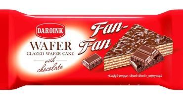 Торт вафельный с шоколадом Daroink Fan-Fan, 200 гр., флоу-пак