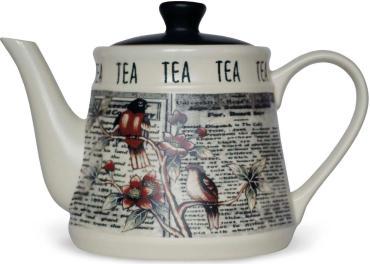 Чай черный керамический чайник Hyton Винтаж, 80 гр., картонная коробка