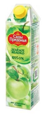 Сок Сады Придонья яблочный из зеленых яблок