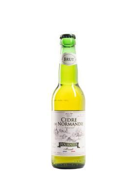 Сидр яблочный сухой фильтрованный Fournier Artisanal Brut, 4,5%, Франция, 330 мл., стекло