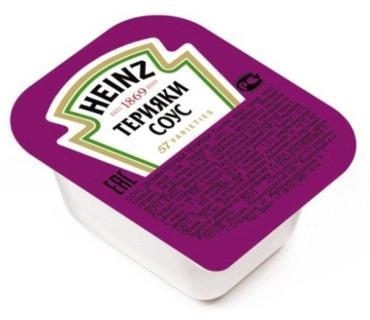 Соус Терияки, Heinz,  25 гр., ПЭТ