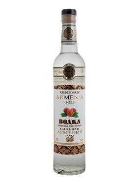 Водка плодовая Персиковая 40%, Армения Гиневан, 500 мл., стекло