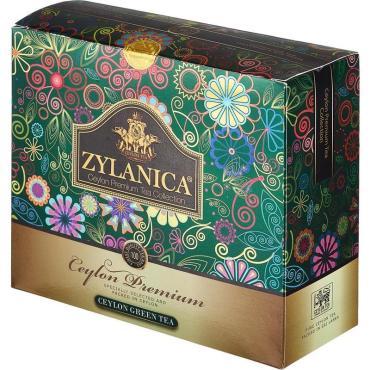 Чай Zylanica Ceylon Premium Collection зеленый в пакетиках