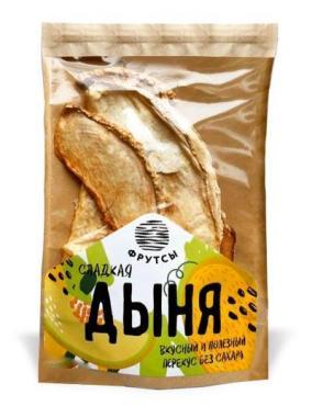 Фруктовые чипсы Фрутсы дыня