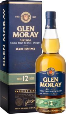 Виски Глен Морей 12 лет в п.у. / Glen Moray 12 years, in tube, 12 лет, Шотландия