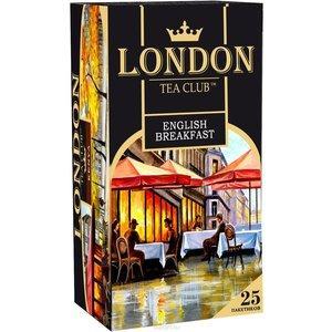 Чай London Tea Club English Breakfast черный 25 пакетиков, 50 гр., картон
