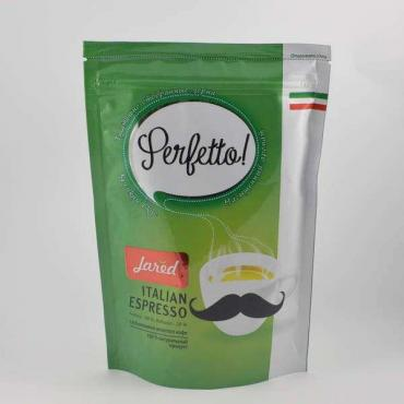 Кофе Jared Perfetto! Italian Espresso с добавлением молотого