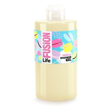 Гель для душа Life Fusion Сливочная ваниль