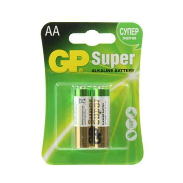 Батарейки GP LR06 15А 2*BL