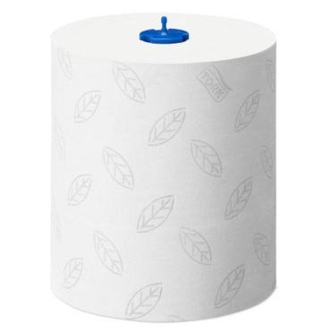 Полотенца в рулоне, 150 м Х 21 см., 600 листов, 2 сл., белые, 1/6 Советск Tork Advanced H1, 1,02 кг., бумажная упаковка