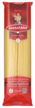 Макаронные изделия Pasta Zara Spaghettini №2