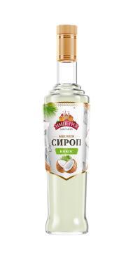 Сироп Империя Джемов кокос сахарный, 920 гр., стекло