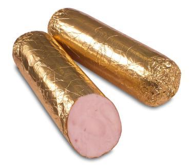 Полено из куриных грудок в/к, 800 гр., обертка фольга/бумага