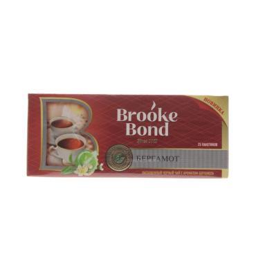 Чай черный Brooke Bond с бергамотом 25 пакетов