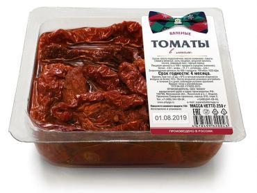 Томаты Amyga вяленные в масле, Россия