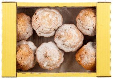 Кексы Контек Фигурное лукошко с изюмом, 2 кг.