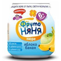 Пюре ФрутоНяня Яблоко-банан с 6 месяцев