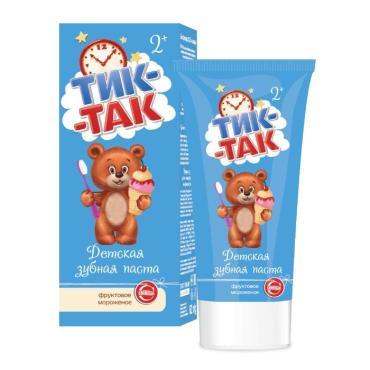 Зубная паста Свобода Тик-Так Фруктовое мороженое 2+