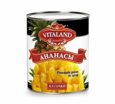 Ананасы Vitaland кус., Таиланд
