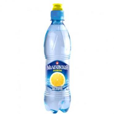 Вода Малаховская Лимон спорт б/г