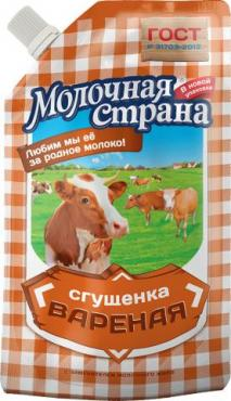 Вареная сгущенка Молочная страна 9 %