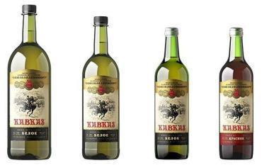 Вино Кавказ столовое фруктовое 14%