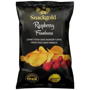 Чипсы Snackgold со вкусом малины