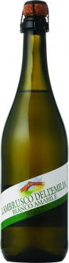 Игристое вино белое полусладкое 8% Contri Spumanti Rialto Lambrusco dell'Emilia IGT Bianco Amabile, Италия, 0,75 л., стекло