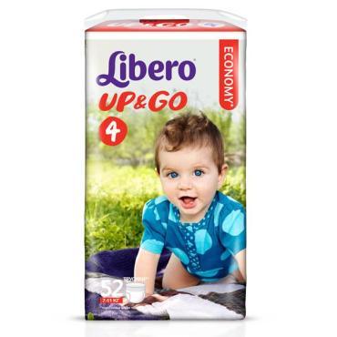 Трусики Libero Up&Go 4 Maxi 7-11 кг 52 шт.