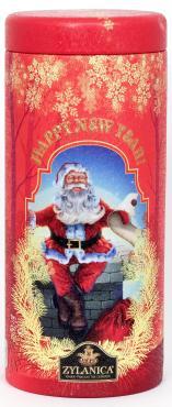 Чай Zylanica Red Дед мороз черный