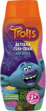 Гель-пена для душа, Trolls, 300 мл., пластиковая бутылка