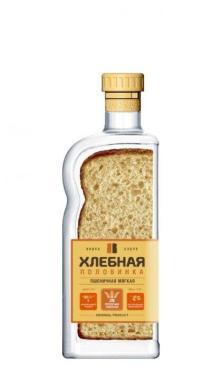 Водка Хлебная Половинка Пшеничная Мягкая особая 4%