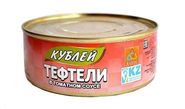Тефтели Кублей Мясные в томатном соусе