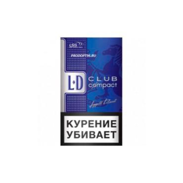 Сигареты LD Club Blue Compact Autograph, 30 гр., картонная пачка