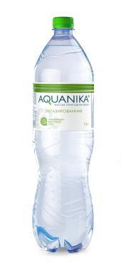 Вода Aquanika  питьевая природная артезианская
