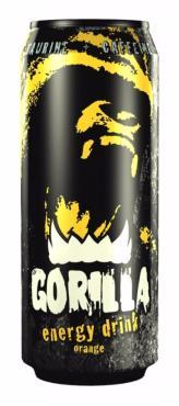 Энергетический напиток Gorilla Апельсин