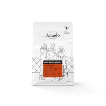 Кофе в зернах Amado Индия Мансунд Малабар  , 200 г