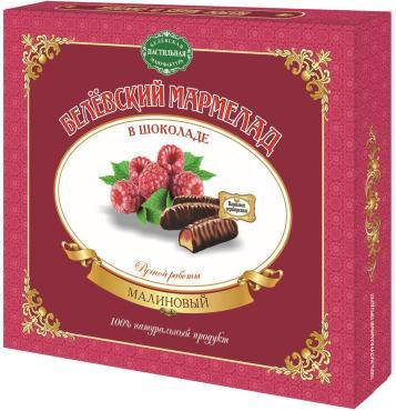Мармелад Белевская пастильная мануфактура Белёвский в шоколаде малиновый