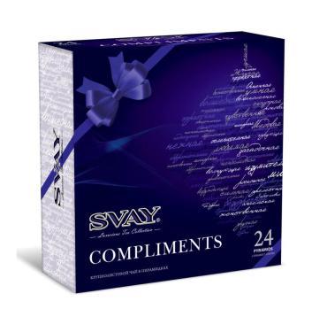 Чай Svay Compliments Подарочный набор 48 гр