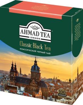 Черный чай в пакетиках Ahmad Tea Classic Black Tea, 260 гр., картонная коробка