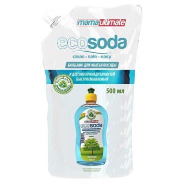 Бальзам для мытья посуды и детских принадлежностей Mama Ultimate EcoSoda Original быстросмываемый