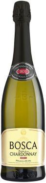 Винный напиток Bosca Chardonnay газированный белый полусладкий