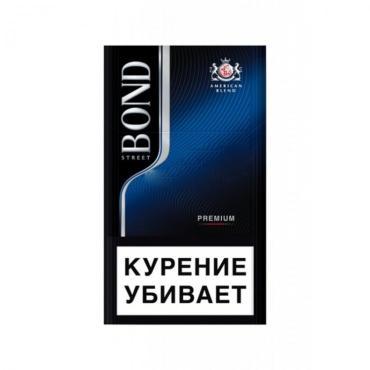 Сигареты с фильтром Bond Street Premium compact, 30 гр., картонная пачка