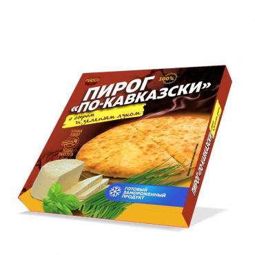 Пирог Максо По-Кавказски с сыром и зел луком
