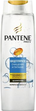 Шампунь Pantene Pro-V Мицеллярное очищение и питание
