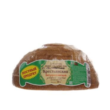 Хлеб Рижский хлеб Крестьянский ржано-пшеничный заварной подовый постный половинка