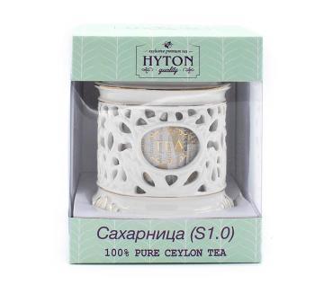 Чай черный керамическая сахарница S 1.0 , Hyton,  50 гр., картон