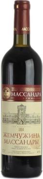 Вино красное сухое Массандра 12 %, 750 мл., стекло