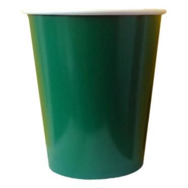 Стаканы бумажные 200 мл., 6 шт., зеленая Goodesta, 300 гр.
